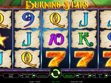 Automat do gry Burning Star za darmo