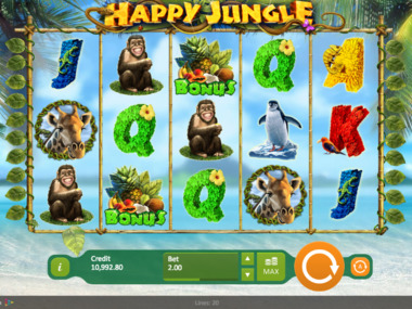 Automat do gry Happy Jungle za darmo