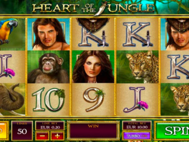 Automat do gry Heart of the Jungle za darmo