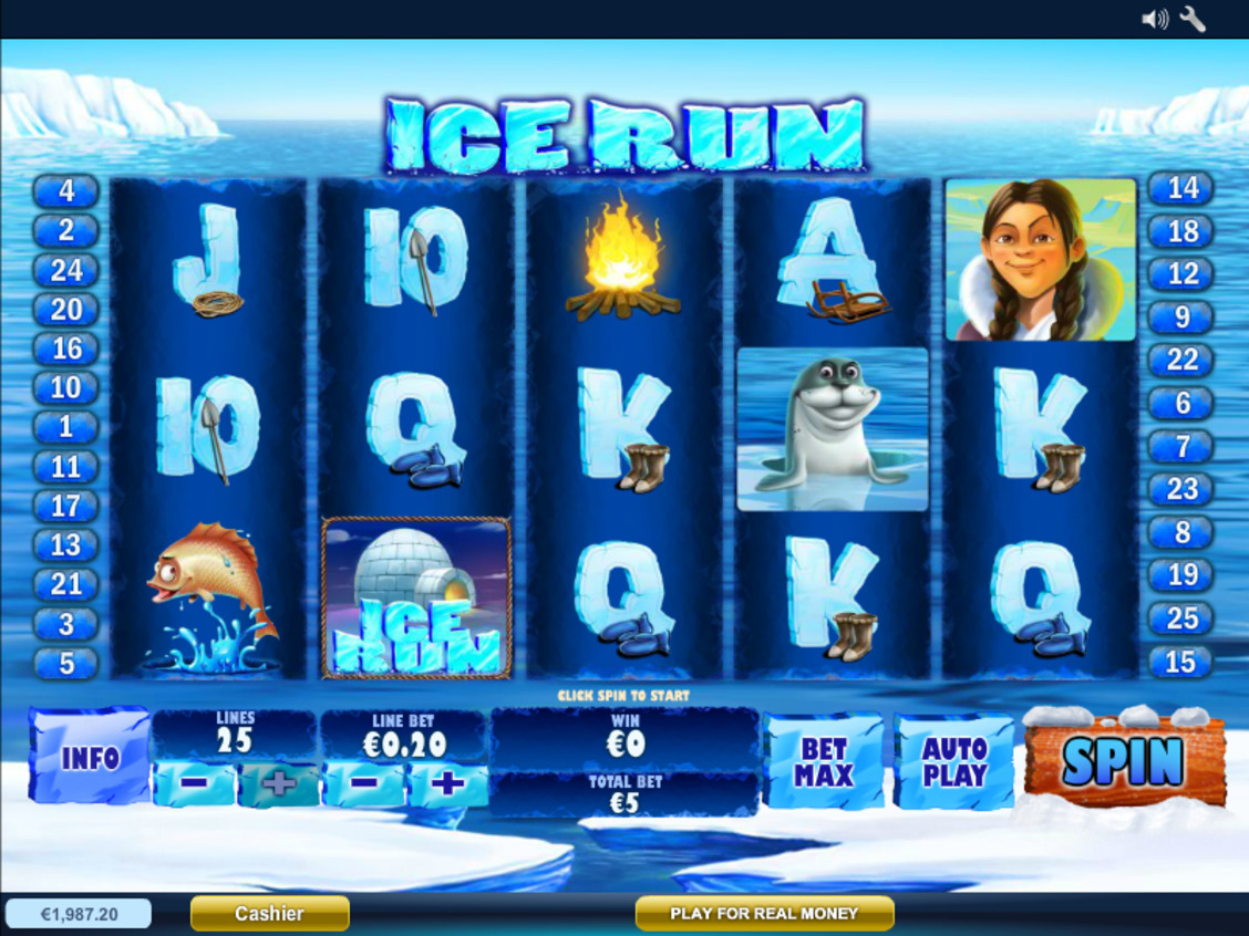 Automat do gry Ice Run za darmo