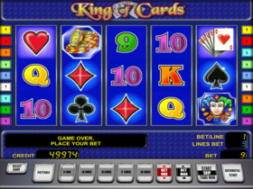 Automat do gry King of Cards za darmo