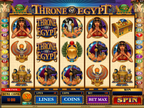 Automat do gry Throne of Egypt