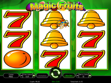 Automat hazardowy Magic Fruits za darmo online