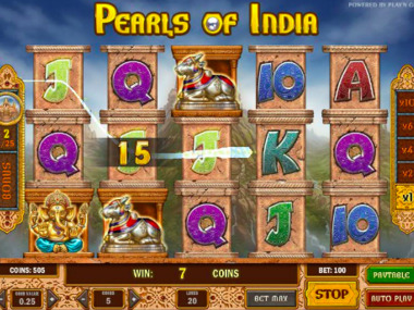 Automat hazardowy Pearls Of India online