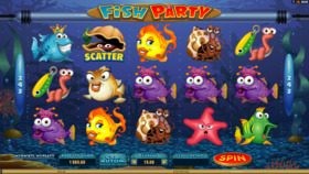 Automat kasynowy online - Fish Party