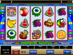 Automat kasynowy online - Monster Mania
