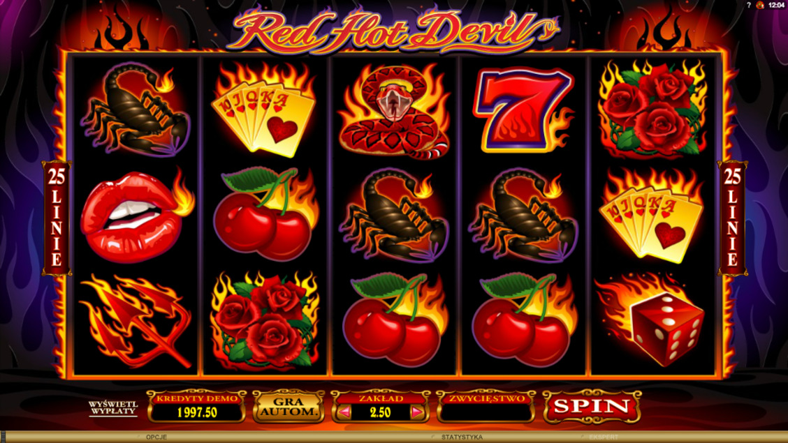 Automat kasynowy online - Red Hot Devil