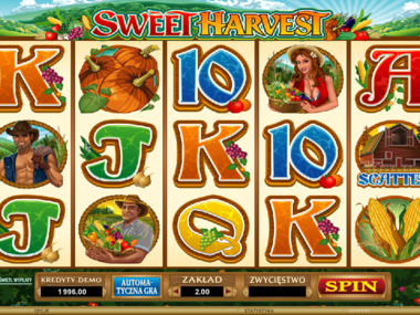 Automat kasynowy online - Sweet Harvest