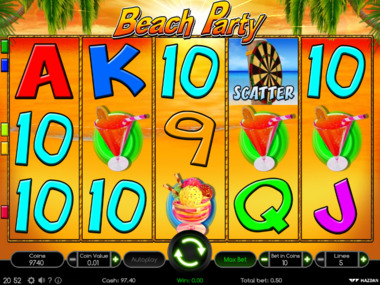 Beach Party automat online