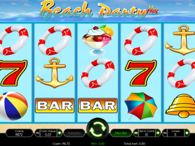 Beach Party Hot gra wrzutowa online