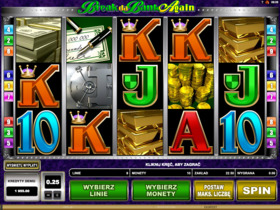 Break da Bank Again darmowy automat online