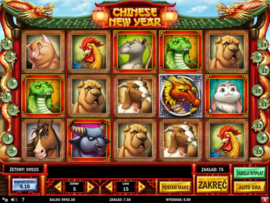 Chinese New Year automat online