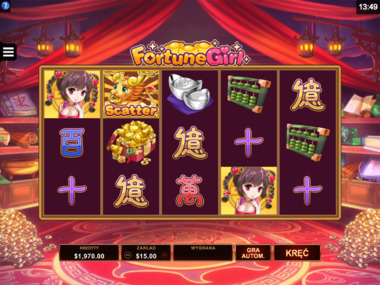 Fortune Girl darmowy automat online