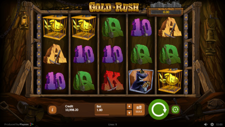 Gold Rush automat online
