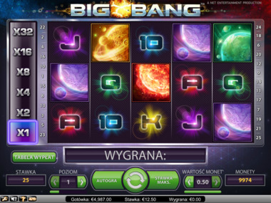 Gra hazardowa Big Bang