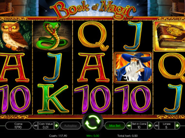 Gra hazardowa Book Of Magic online