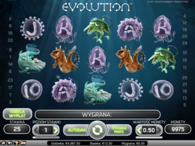 Gra hazardowa Evolution
