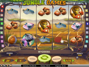 Gra hazardowa Jungle Games
