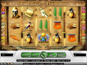 Gra hazardowa Secrets of Horus