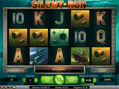 Gra hazardowa Silent Run