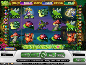 Gra hazardowa Super Lucky Frog