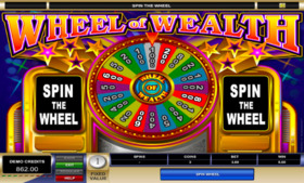 Gra hazardowa Wheel of Wealth 3 Reel online