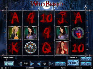 Gra hazardowa Wild Blood online