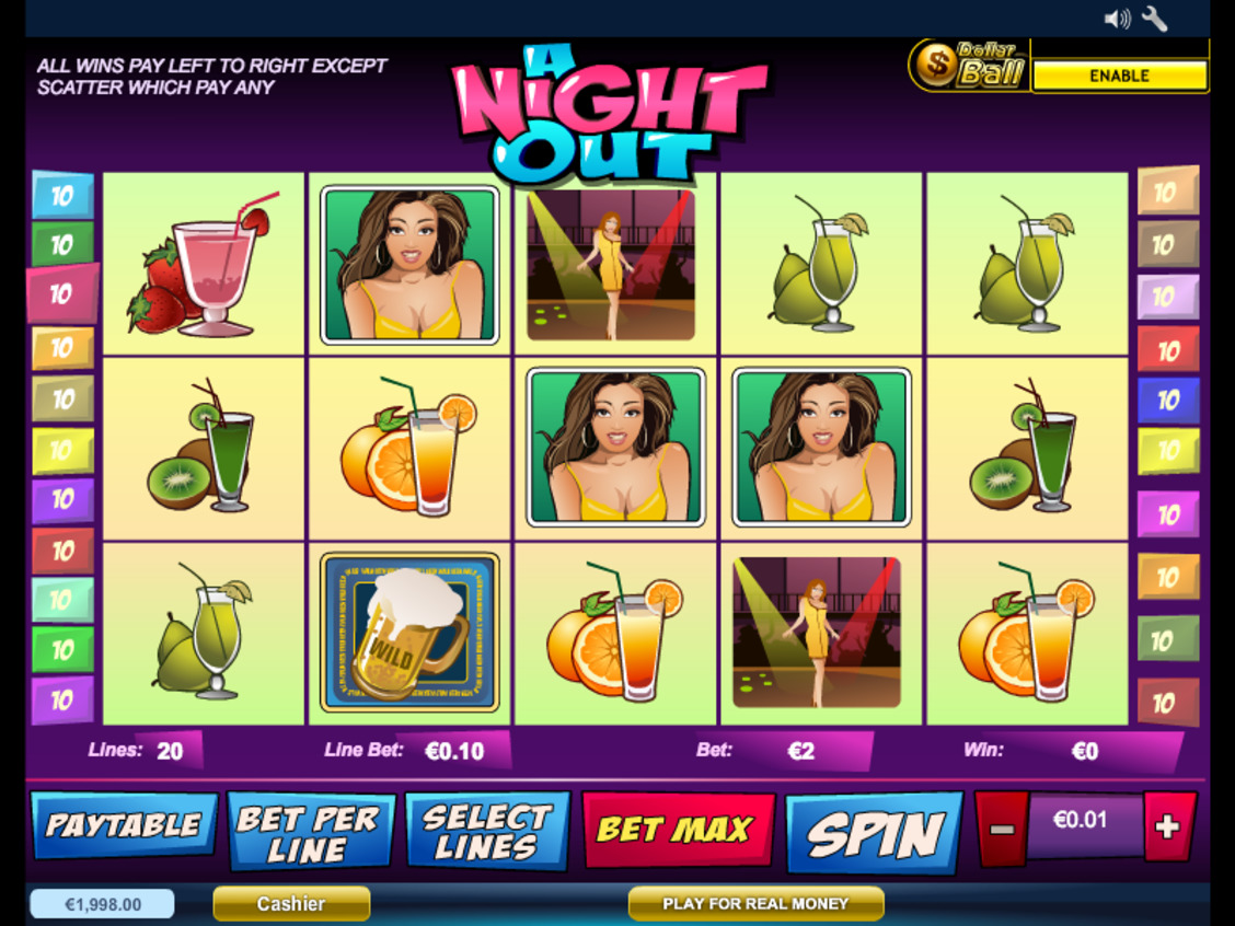 Gra kasynowa A Night Out online