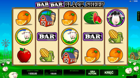 Gra kasynowa Bar Bar Black Sheep online