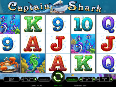 Gra kasynowa Captain Shark online