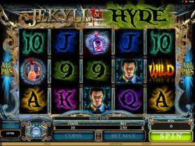 Gra kasynowa Jekyll and Hyde za free