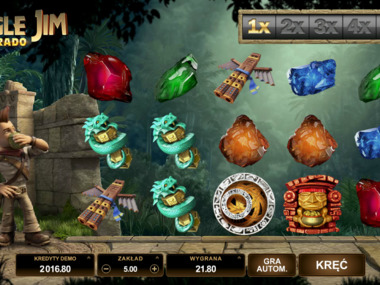 Gra kasynowa Jungle Jim El Dorado online