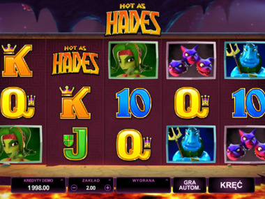 Hot as Hades automat online za darmo