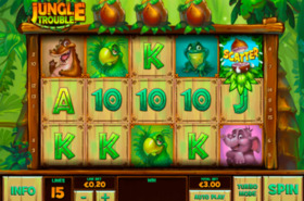 Jungle Trouble automat online za darmo