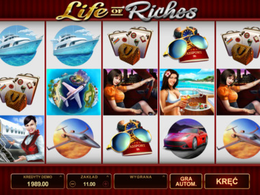 Life of Riches jednoręki bandyta online