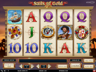 Sails of Gold darmowy automat online