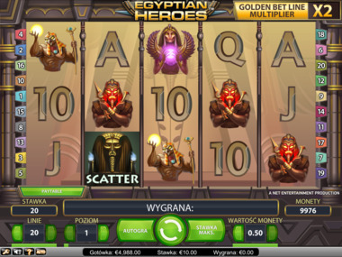 Slot kasynowy Egyptian Heroes