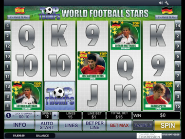 Top Trumps World Football Stars maszyna hazardowa za darmo