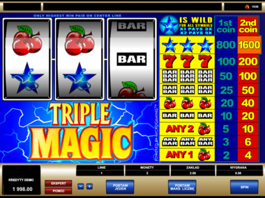 Triple Magic automat online za darmo