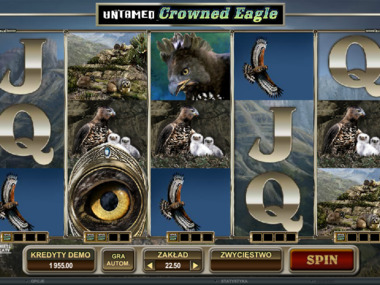 Untamed Crowned Eagle automat online za darmo